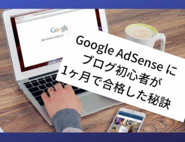 【2018年最新&解説】パソコン初心者がはてなブログ1ヶ月でグーグルアドセンス(GoogleAdSense)に合格するために気をつけたこと