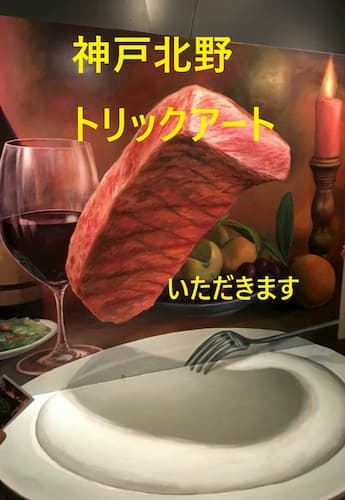 コミ症カップルはデートに行くのだ!神戸の不思議な館「トリックアート」