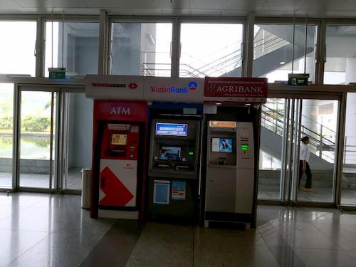 ノイバイ空港でのATM