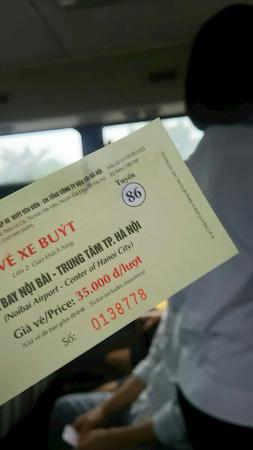 86番バスのチケット