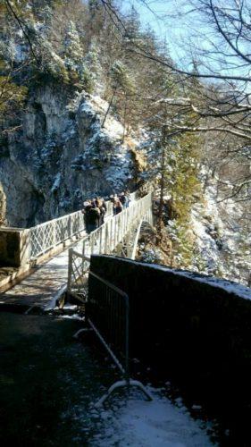 冬のマリエン橋