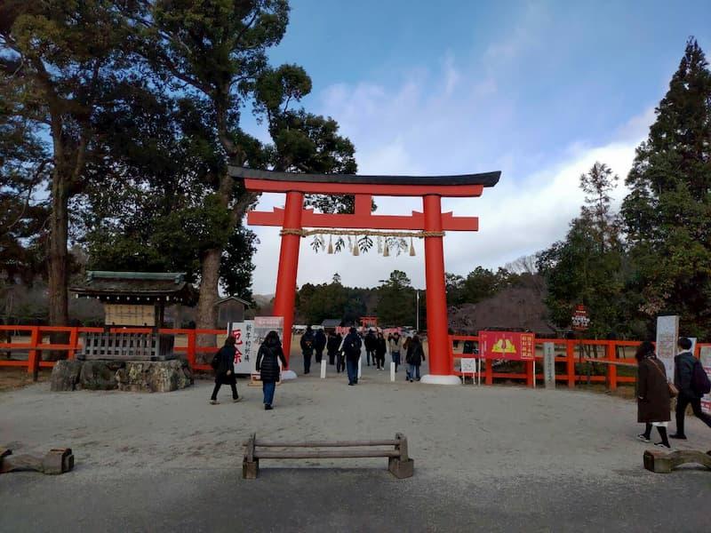 上賀茂神社の入り口