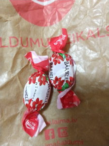 ラトビアの飴お菓子