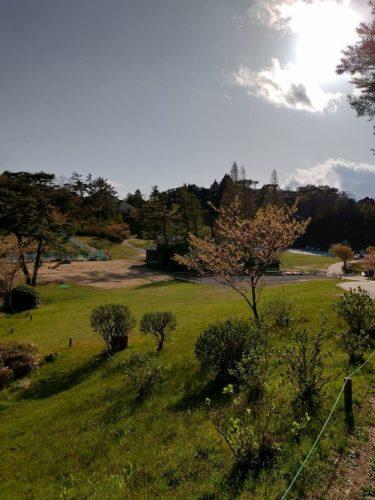六甲山カンツリーハウスの公園