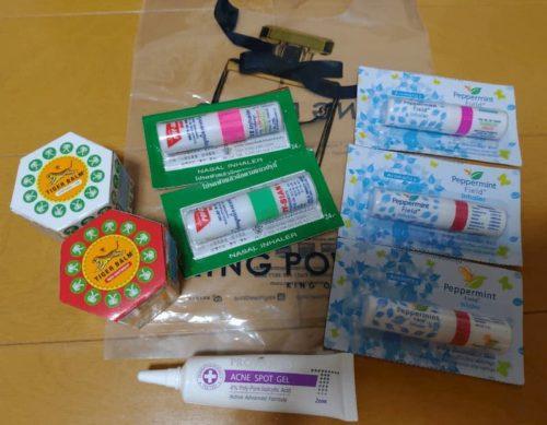 タイとカンボジアでの購入品。コスメティック