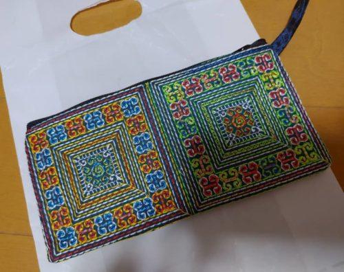 タイとカンボジアでの購入品。財布