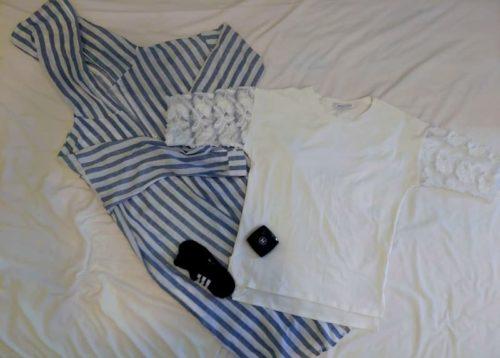 ベトナム旅行での捨てたもの。シャツ