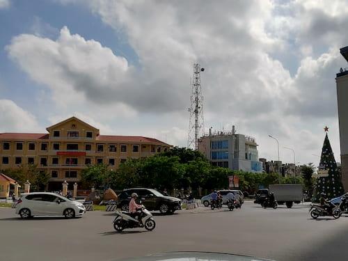 ベトナムのフエ街並み