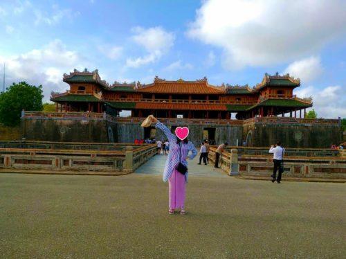 ベトナムのフエ王宮