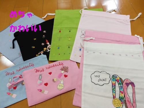 ハノイ高級刺繍タンミ-デザインの購入品