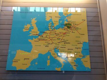 ビリニュスからリガへ!格安4ユ-ロのバス移動の旅。時刻表も