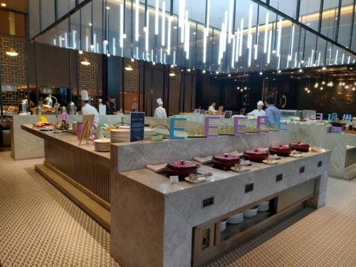 上海虹橋賓館の朝食