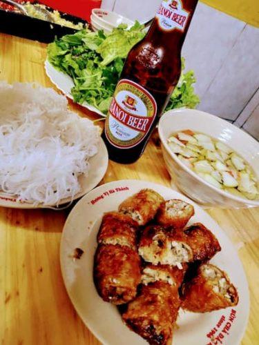 ベトナム風つけ麺-ブンチャ-
