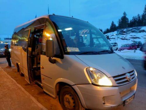 ロヴァニエミ空港バス