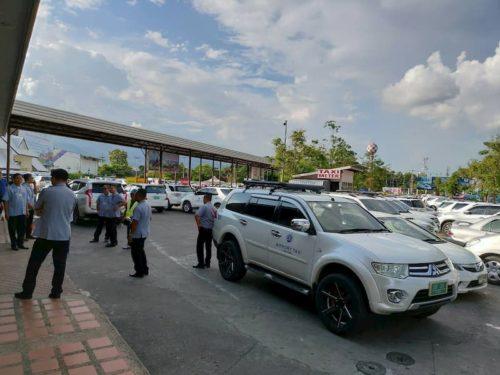 チェンマイ空港のタクシー
