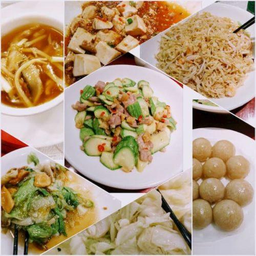 香港の晩御飯四川料理
