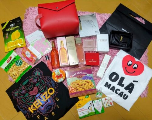 香港マカオ旅行での購入品