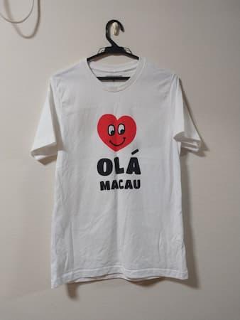 マカオのTシャツ