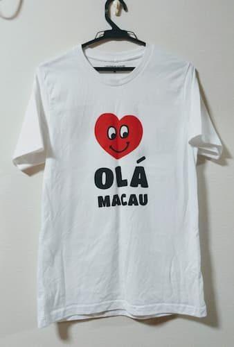 マカオのベネチアンホテルで購入したTシャツ