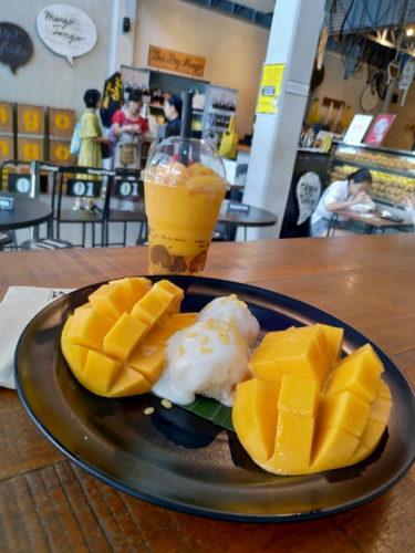 マンゴタンゴのデザート