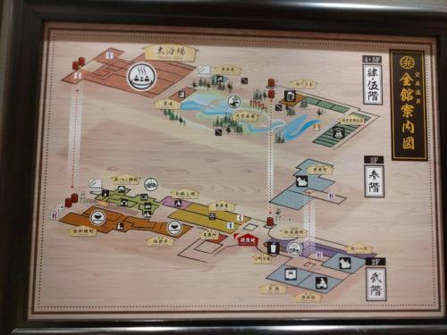 空庭温泉のマップ