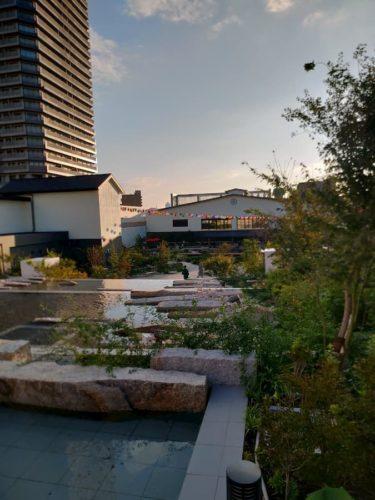 空庭温泉の空中庭園