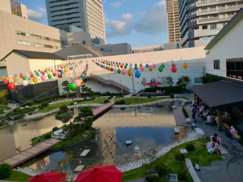 空庭温泉の空中庭園2