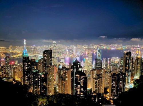 ビクトリアピ-ク夜景 香港