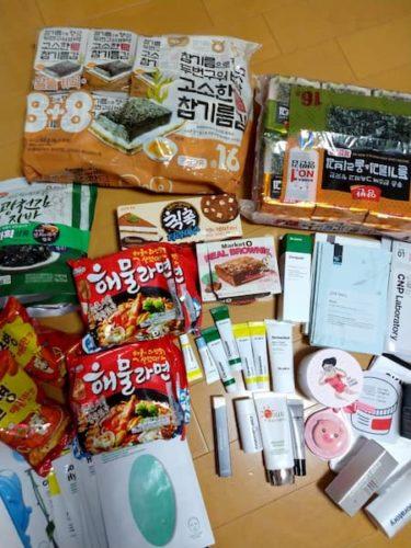 釜山旅行の購入品-食品