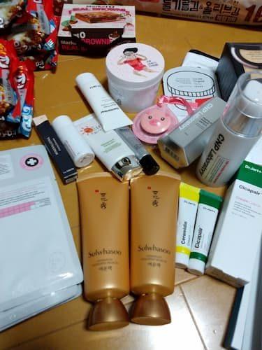 釜山旅行の購入品-コスメ