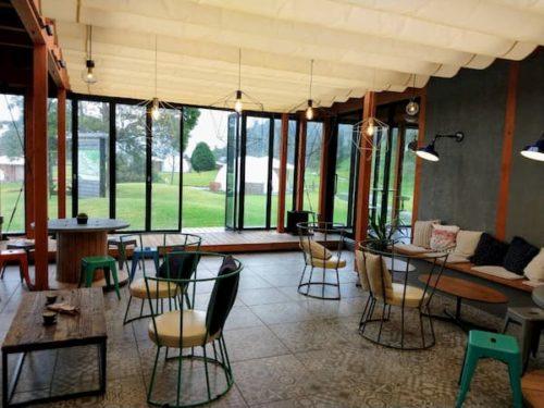 滋賀のクラブエレメントのカフェ