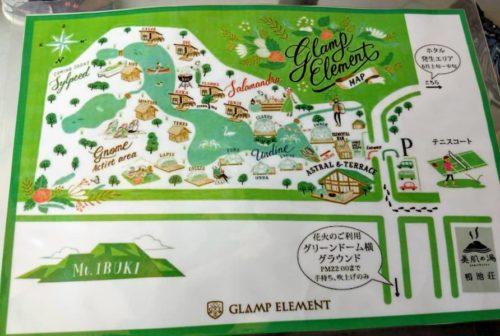 滋賀のクラブエレメントの地図