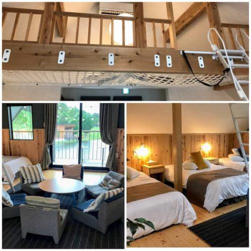 滋賀のクラブエレメントの6人部屋
