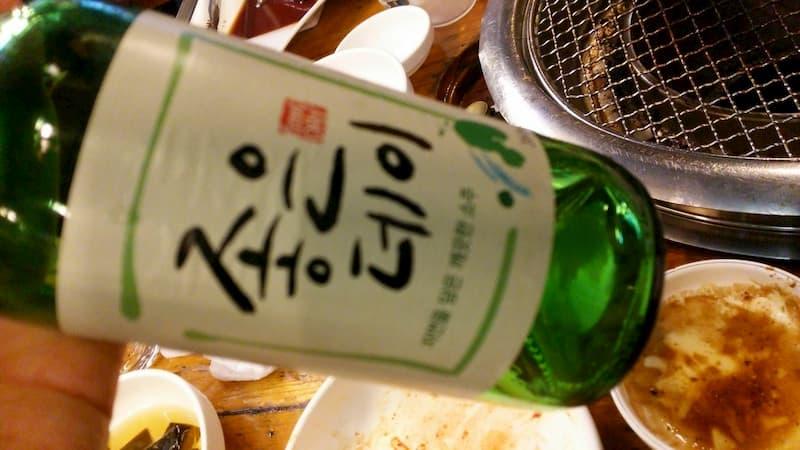 韓国のお酒チョウンデイ