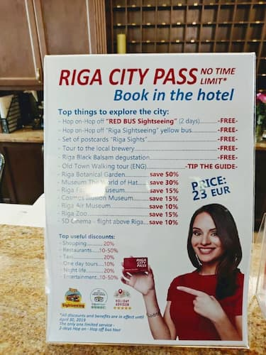 リックスウェル オ-ルド リガ パレス ホテルの現地ツア-