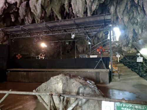 ガンガラーの谷の舞台