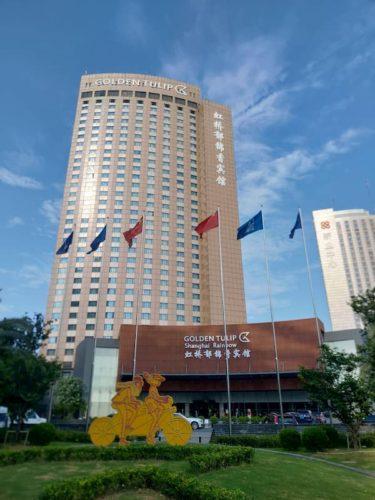 日本人の上海出張 定番のホテル「上海虹橋賓館」