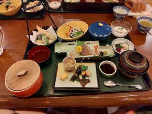 金沢旅行のランチメニュ-