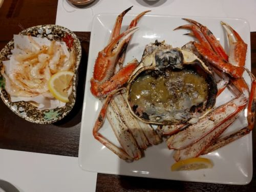 金沢まぐりがんちの蟹