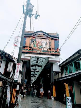 滋賀県長岡-商店街