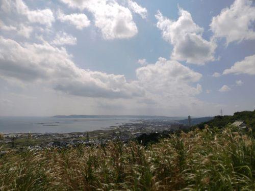 中城城跡からの景色