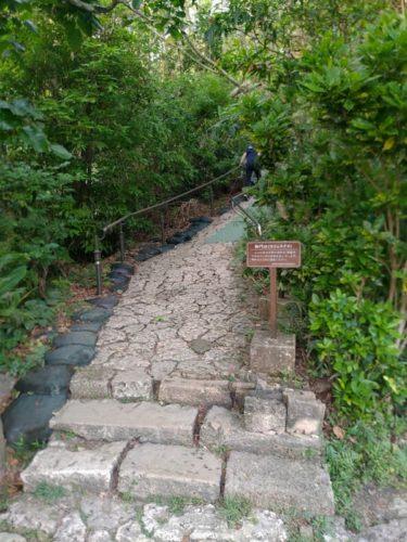 斎場御嶽への階段