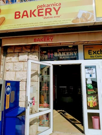 ドゥブロヴニクのパン屋