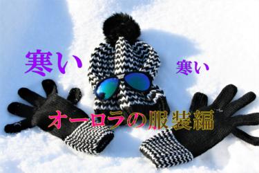 真冬のフィンランドでオ-ロラ鑑賞 服装は何を着ていく