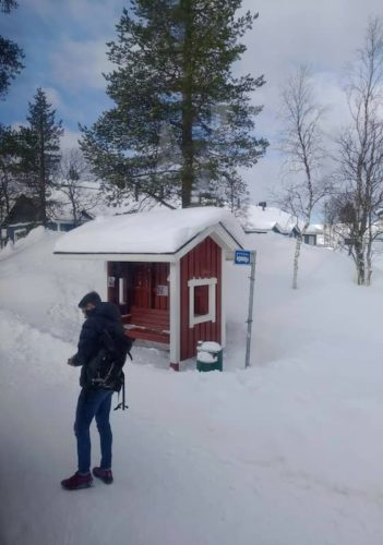 フィンランドへの空港バス