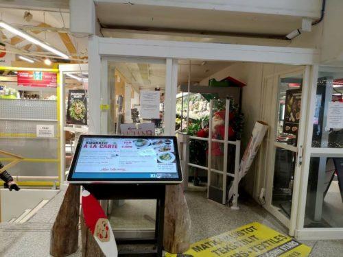 サーリセルカのスーパーマーケット