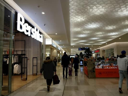 ウラジオストクのカリナショッピングモ-ル1階