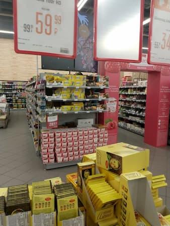 ウラジオストクのカリナショッピングモ-ル売場