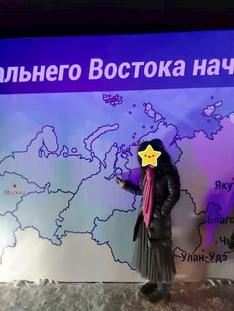 ウラジオストクのカウントダウン