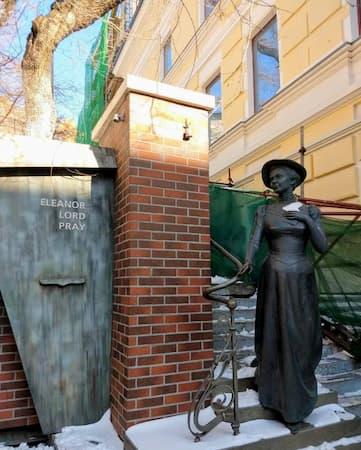 ウラジオストクの銅像